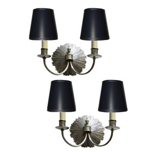 "French Maison Charles Sconces "" Petit Soleil"" . Pair"