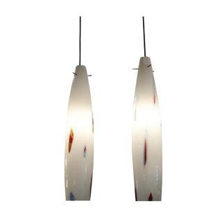 Venini Pair of Hanging Pendant Lamps