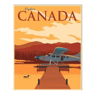 Steve Thomas Canadian Travel Poster