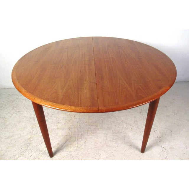 Mid-Century Teak Conference Table & 14 Eric Buck Dining Chairs - Image 5 of 10