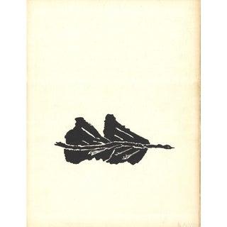 Georges Braque, Oiseaux Noir, 1960 Lithograph