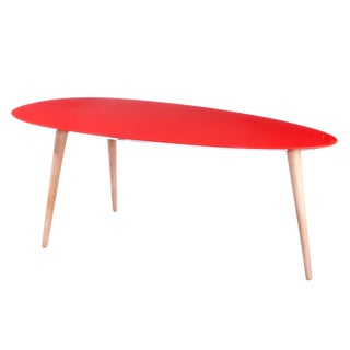 Small Egg Table - Red