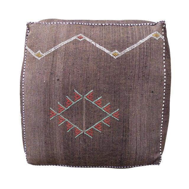 Sabra Silk Moroccan Floor Pillow - Image 1 of 3