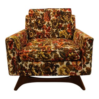 Mid-Century Upholstered Chair