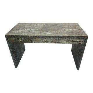 French Cerused Oak Desk in the Manner of Jean-Michel Frank