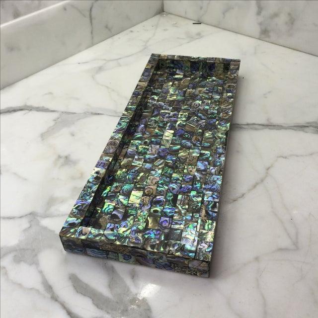 Abalone Mosaic Tray - Image 2 of 5