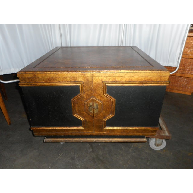 Black Asian Square Table - Image 2 of 7