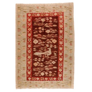 Antique Early 20th Century Russian Besserabian Rug