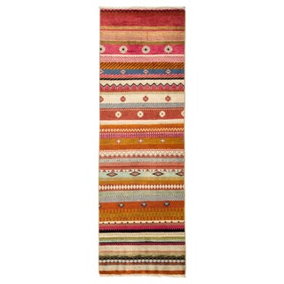 "Lori, Hand Knotted Runner - 2'0"" X 6'1"""