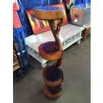 Image of Indonesian Teak Tiered Display Stand