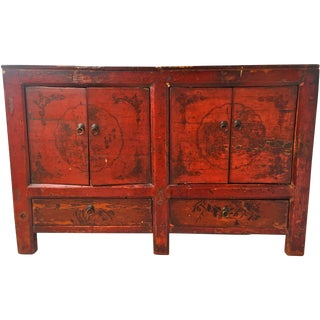 Asian Gansu Sideboard Cabinet