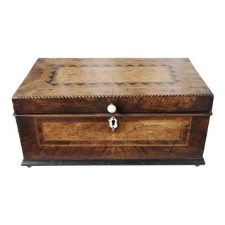 Tunbridge Ware Sewing Box