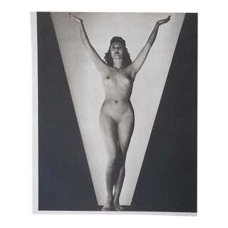 C.1941 Vintage Nude Parisian Woman Photogravure