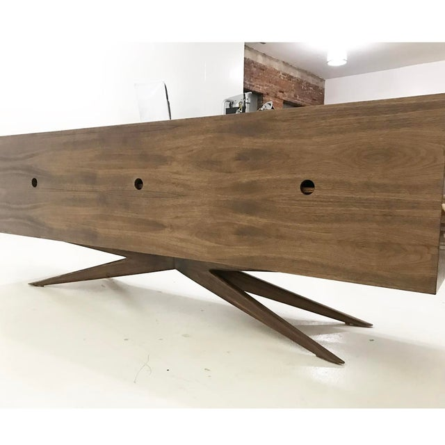 Brass Accent Credenza - Image 6 of 6