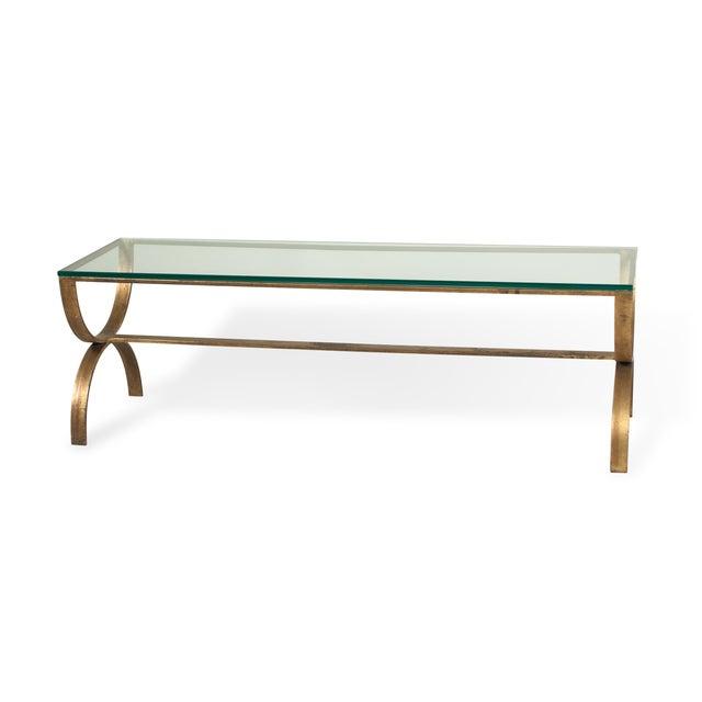 Gilt Steel Coffee Table - Image 6 of 6