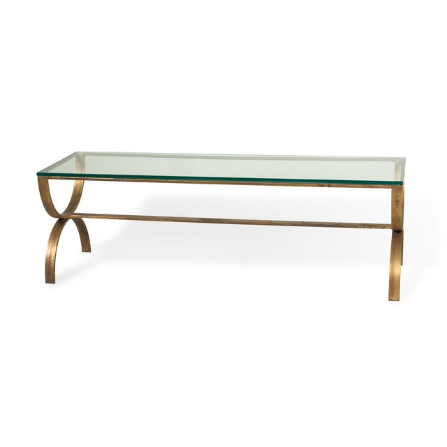 Image of Gilt Steel Coffee Table