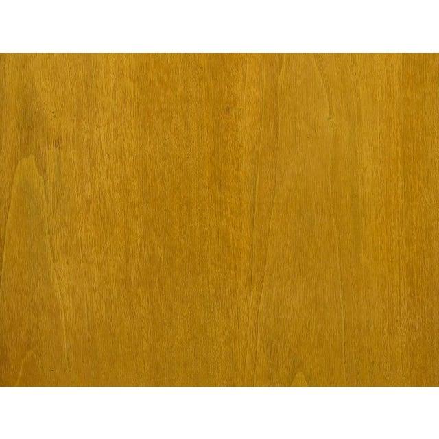 Renzo Rutili Bleached Mahogany and White Micarta Long Cabinet - Image 7 of 8