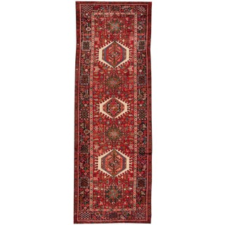 "Apadana - Vintage Persian Heriz, 3'9"" x 10'7"""