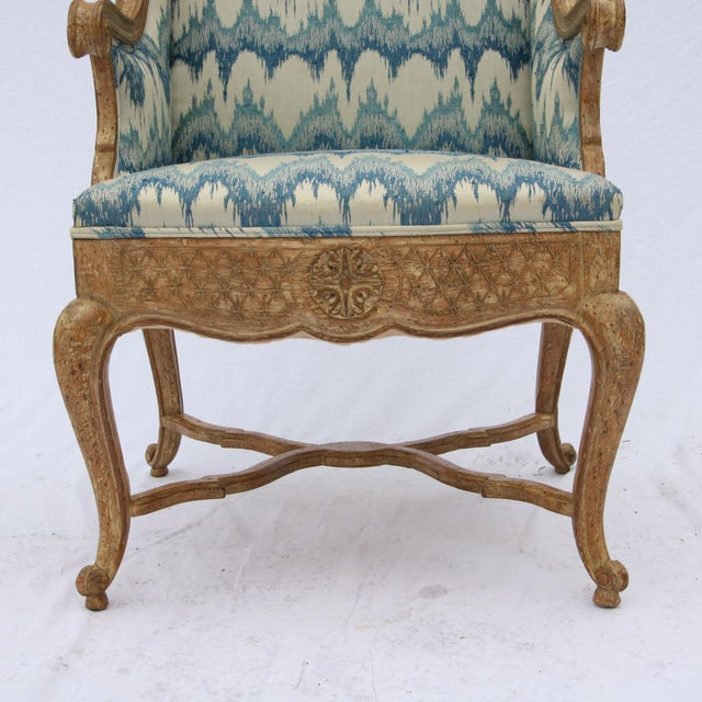 Robert Richter Wingback Chair - Image 3 of 11
