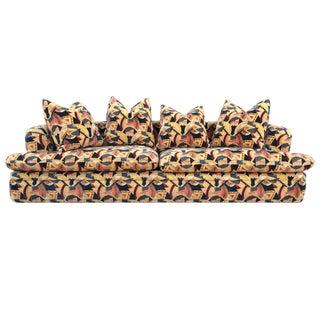 Angelo Donghia Memphis Upholstered Sofa