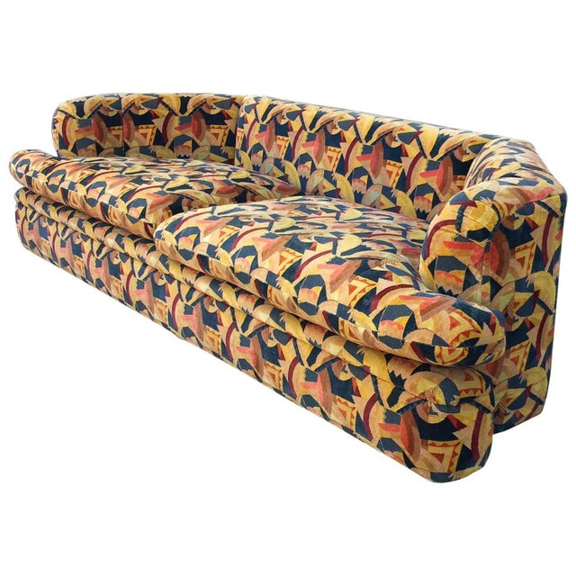 Angelo Donghia Memphis Upholstered Sofa - Image 2 of 8