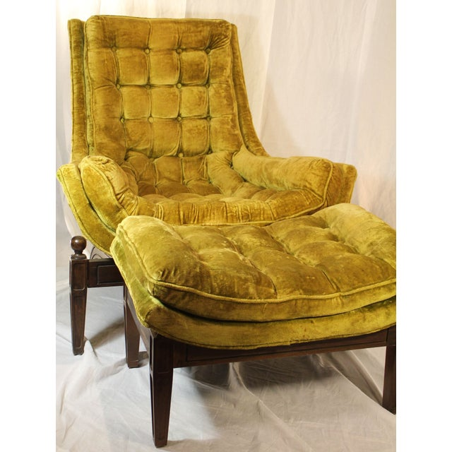 Adrian Pearsall Lounge Chairs And Ottoman Chairish
