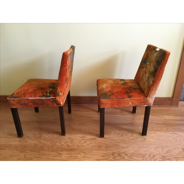 Image of Edward Wormley for Dunbar Side Chairs - A Pair