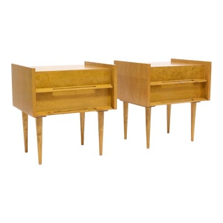 Pair Of Nightstands/ End Tables By Edmond Spence