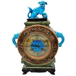 Antique French Jules Viellard Bordeaux Clock