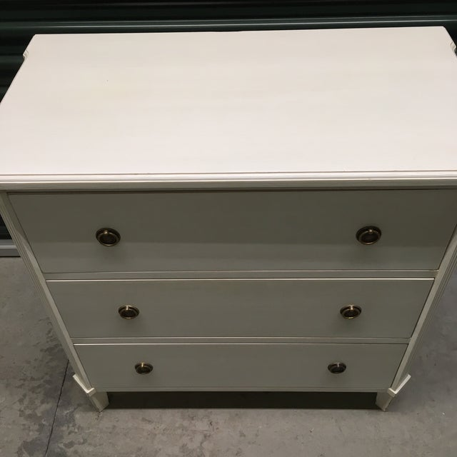Image of Swedish Gustavian Style Chest of Drawers
