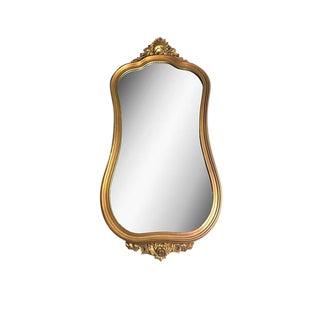 Mid-Century Vintage J.A. Olson Company Golden Mirror