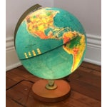 Image of Vintage Replogle Light Up Globe with Relief