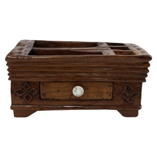 Indonesian Exotic Wood Java Betel Box