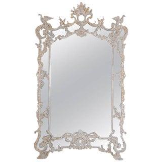 Monumental Italian Rococo Style Mirror