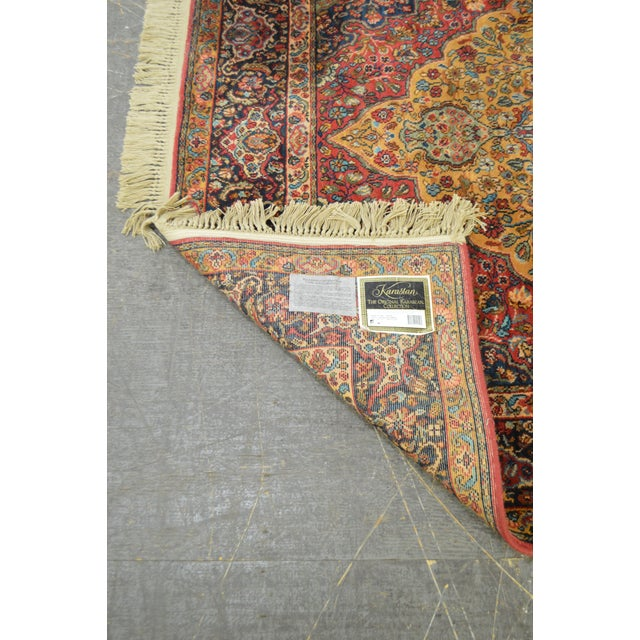 9x9 Bedroom: Karastan Medallion Kirman 5.9x9 Area Rug
