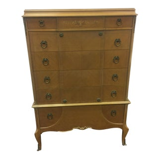 French Style Tall Chest of Drawers