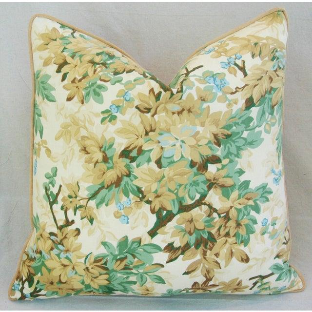 Designer Brunschwig & Fils Foliage Pillows - Pair - Image 6 of 11