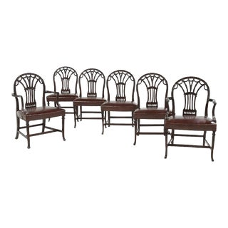 George III Style Dining Chairs - Set of 6