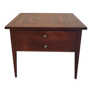 American of Martinsvill Walnut Side Table
