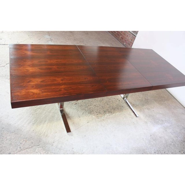 Poul Nørreklit Low Rosewood Extension Table for Georg Petersens - Image 8 of 10