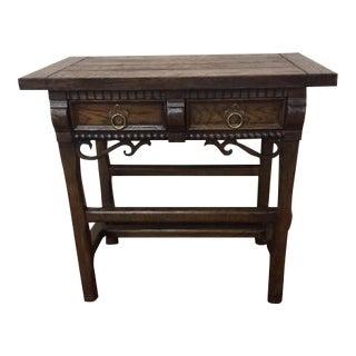Baker Furniture Company Occasional Oak Side Table