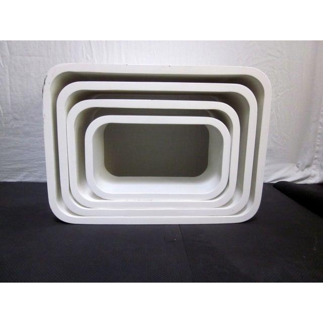 Modernist Display Nesting Tables - Image 3 of 8