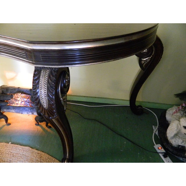 Dessin Fournir Carved Scroll Legs Console Table - Image 6 of 11