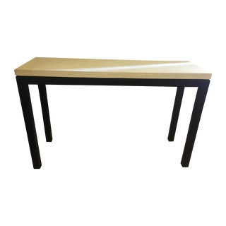 Crate & Barrel Parsons Console Table
