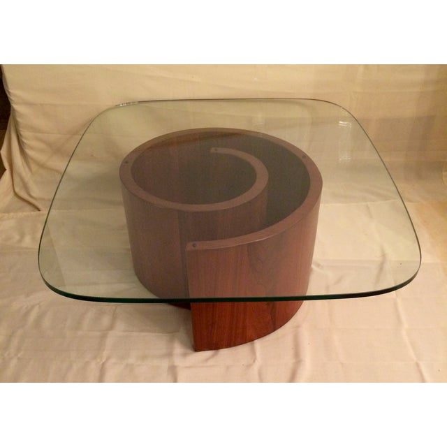 Vladimir Kagan Style Snail Coffee Table Chairish