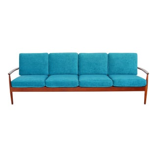 Danish Modern Teak Sofa by Grete Jalk