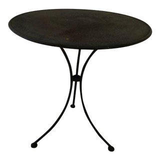 French Rustic Steel Table