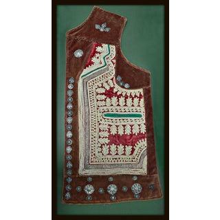 Ethnic Clothing Piece Framed