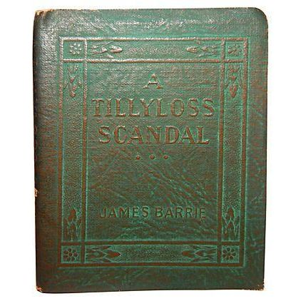 A Tillyloss Scandal By Barre Leather Book - Image 1 of 2