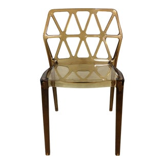 Calligaris Alchemia Stacking Amber Chair